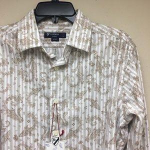 CREMIEUX 38 Men's The Print Shop Size Medium Shirt